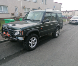 2003 LAND ROVER DISCOVERY 7 SEATS OFF ROAD READY