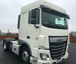 2015 DAF XF 106.460 6X2 TRACTOR UNIT MANUAL GEARBOX