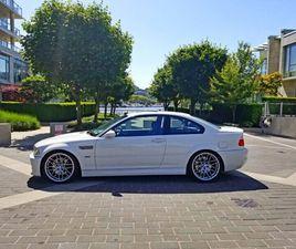 BMW E46 M3 LOW KMS | CARS & TRUCKS | CITY OF TORONTO | KIJIJI
