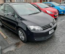 VW GOLF PLUS 2.0 2011 LOW MILEAGE CAR MINT CONDITION BLACK HIGH SPEED
