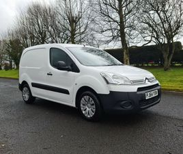 2015 CITROEN BERLINGO LX 1.6 HDI........NO VAT