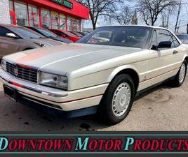1989 CADILLAC ALLANTE 4.5L CONVERTIBLE *WOW* | CARS & TRUCKS | LONDON | KIJIJI