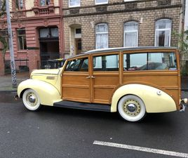 FORD DELUXE STATION WAGON WOODY 1938