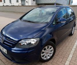 VOLKSWAGEN, GOLF PLUS DIESEL, HATCHBACK, 2007, MANUAL, 1896 (CC), 5 DOORS