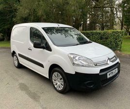 2015 CITROEN BERLINGO, 3 SEATER,, 90BHP