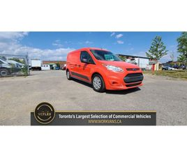 2017 FORD TRANSIT CONNECT XLT - DUAL SLIDING DOORS - GASOLINE - CERTIFIED | CARS & TRUCKS