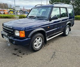 LANDROVER DISCOVEREY TD5 MANUAL 7 SEATER VERY GOOD ORDER FULL YEARS MO