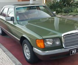 MERCEDES-BENZ 280 SE (W126) 24.866 KM MANUAL TRANSMISSION