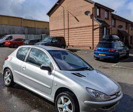 PEUGEOT 206 WITH OCTOBER MOT