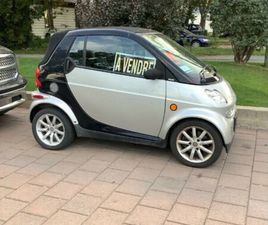 SMART CABRIOLET FORTWO 2005 | CARS & TRUCKS | LONGUEUIL / SOUTH SHORE | KIJIJI