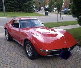 1972 CORVETTE STINGRAY | CLASSIC CARS | OAKVILLE / HALTON REGION | KIJIJI