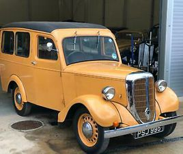 JOWETT BRADFORD VAN DE LUXE, ESTATE WITH REAR SEATS, 1952,VERY RARE AND UNUSUAL.