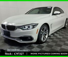 2018 BMW 4-SERIES 430I LUXURY,NAV,CAM,SUNROOF,HTD STS,PARK ASST