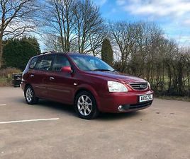 2006 KIA CARENS 2.0 CRDI LE 5DR MPV DIESEL MANUAL