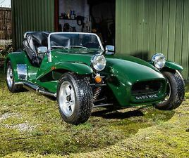 1993 WESTFIELD 2.0 SEI WIDEBODY. GREEN. ONE OWNER, 3,000 MILES FROM NEW