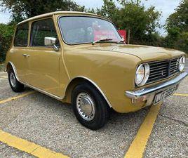 1975 AUSTIN MINI CLUBMAN AUTO. 1000CC. HARVEST GOLD. ONLY 8 THOUSAND MILES!