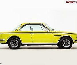 BMW (E9) 3.0 CSL // GOLF YELLOW // UK RHD CITY PACK // EXTENSIVE HISTORY