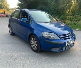 2005 VOLKSWAGEN GOLF PLUS 1.9 SE TDI PD 5DR HATCHBACK DIESEL MANUAL