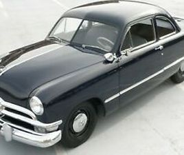 1950 FORD DELUXE BUSINESS COUPE SUPERCHARGED FLATHEAD