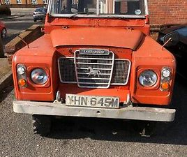 LANDROVER SERIES 3 1974 MOT &TAX EXEMPT WITH FULL 12 MONTHES MOT