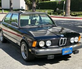 1980 BMW 3-SERIES 1980 BMW 320I SUNROOF COUPE/ AC/ORIGINAL PAINT AND INTERIOR