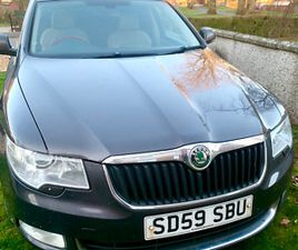 SKODA SUPERB 2.0 NEW CLUTCH TIMING BELT, BATTERY 4X TYRES & BREAK PADS AND COIL