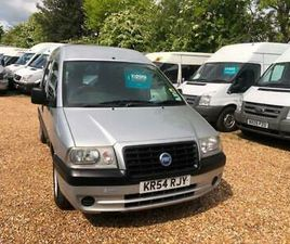 2004 FIAT SCUDO DISABILITY WHEELCHAIR VEHICLE WHEELCHAIR ACCESSIBLE VEHICLE DIE