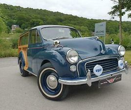 WRCC ''CALIFORNIA'' MORRIS MINOR 1000 TRAVELLER ** READ LISTING**