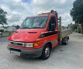 2003 IVECO DAILY 35C12 UNIJET CHASSIS CAB 3450 WB CHASSIS CAB DIESEL MANUAL