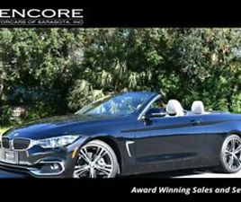 2018 BMW 4-SERIES 430I CONVERTIBLE W/PREMIUM, LUXURY AND ESSENTIALS