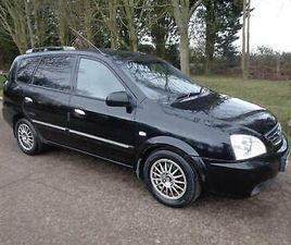 2006 KIA CARENS 2.0 CRDI LE 5DR PX TO CLEAR MPV DIESEL MANUAL