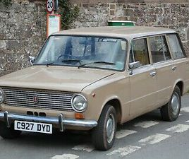 LADA ESTATE WITH GUY CROFT STAGE 2 FIAT TWIN CAM