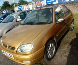 CITROEN SAXO 1.4I SMALL AUTOMATIC 2000MY EXCLUSIVE 2 OWNERS