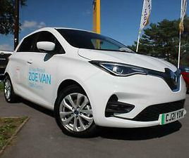 2021 RENAULT ZOE VAN R110 52KWH BUSINESS AUTO 4WD N/A 3DR (I, RAPID CHARGE) PANE