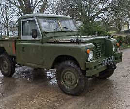 LAND ROVER SERIES 3 FOR SALE 1975 PICK UP