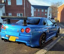 NISSAN SKYLINE R34 NISMO GTT 2.5 TURBO R33 R32 MODIFIED GTST GTR EVO 8 9 X DRIFT