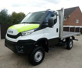 IVECO DAILY 55-170, NEW 4X4, MWB, UNREGISTERED, ALLUMINUM FLATBED BODY, AWD