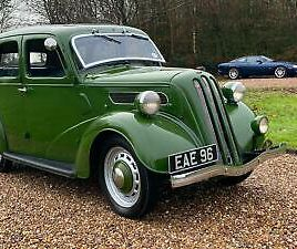 FORD TEN 7W DELUXE-1937-SUPER RARE-FULLY RESTORED- MUCH RECENT EXPENDITURE
