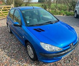 2004 PEUGEOT 206 1.1 S 5DR HATCHBACK PETROL MANUAL