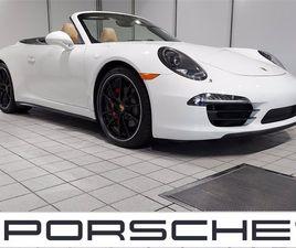 CERTIFIED 2016 PORSCHE 911 CARRERA 4S