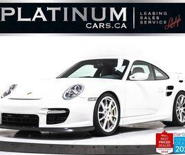 USED 2008 PORSCHE 911 GT2, 1/213, RARE, 530HP, SPORT CHRONO, CARBON