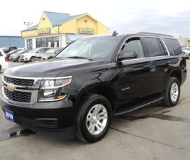 USED 2019 CHEVROLET TAHOE 1500 LS 4X4 5.3L 8PASS BACKCAM REMOTESTART