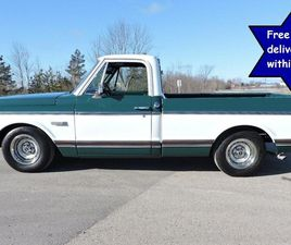 USED 1971 CHEVROLET C10 SUPER CHEYENNE SOUTHERN SHORT BOX AIR CONDITIONED