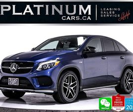 USED 2019 MERCEDES-BENZ GLE-CLASS AMG GLE43, COUPE, 385HP, PREMIUM, NAV, CAM