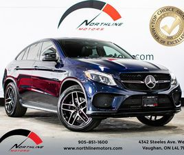 USED 2018 MERCEDES-BENZ GLE GLE43 AMG COUPE/NAVIGATION/DRIVERS ASSIST/360 CAM