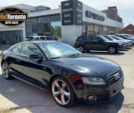 USED 2012 AUDI A5 COUPE - SLINE - 2.0T - QUATTRO - NAVIGATION - POWER ROOF - TIPTRONIC - P