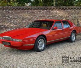ASTON MARTIN LAGONDA 4TH OWNER, ONLY 59.833 MILES, ONE OF ONLY 645 MADE UIT 1984 AANGEBODE