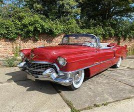 CADILLAC ELDORADO UIT 01-01-1955 AANGEBODEN DOOR VINTAGE CARS