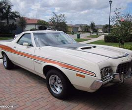 FORD RANCHERO GT 1972 - 400CI - 132000KM - MATCHING NUMBERS