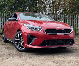 RED KIA PROCEED 1.5 T-GDI GT-LINE SHOOTING BRAKE (S/S) 5DR FOR SALE FOR £23608 IN BOSTON,